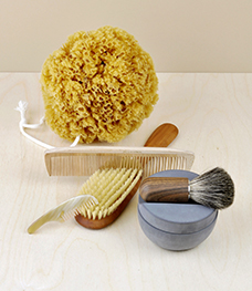 Objects for use about the person, personal care, hair brushes, combs, bathroom accessories, personal tools.
